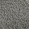 Miyuki Seed Bead 15/0 Apx 22g Frosted Glazed/ Rainbow Grey Matte Aurora Borealis